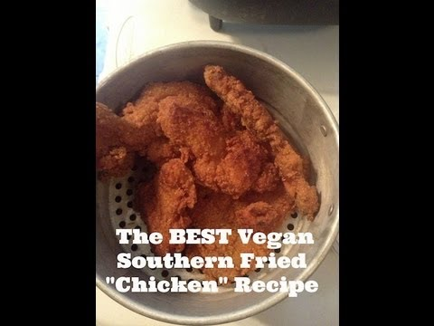 How to Make the BEST Vegan Southern Fried