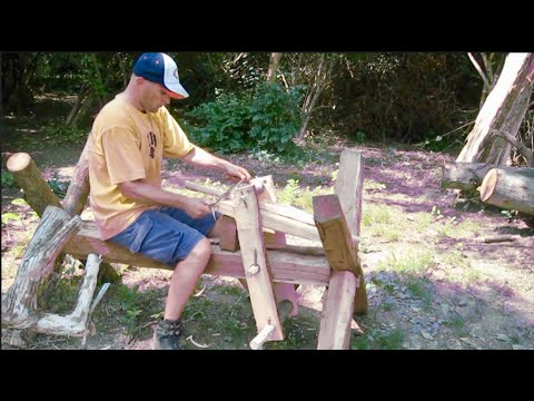 How To Build A Workbench and Shaving Horse