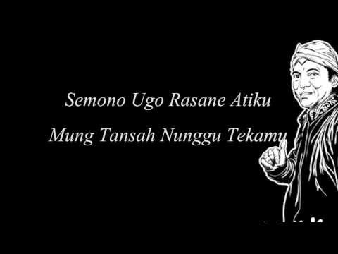 Lirik Lagu TANJUNG MAS NINGGAL JANJI By Didi Kempot Campursari - AnekaNews.net