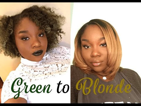 How I Went From Green To Blonde Hair | Brown Girl Living