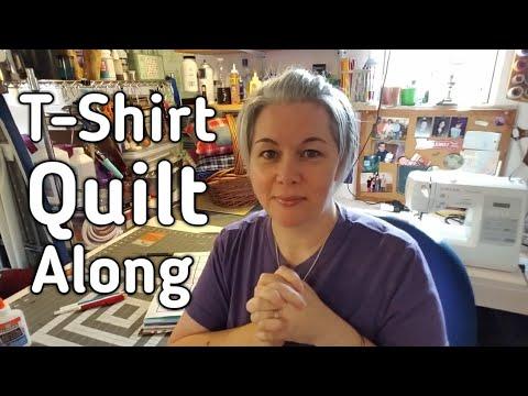 Let's Make A T-Shirt Quilt! Quilt Along Announcement & Supplies Needed