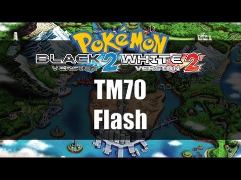 Pokemon Black 2 & White 2 | Where to get TM70 Flash