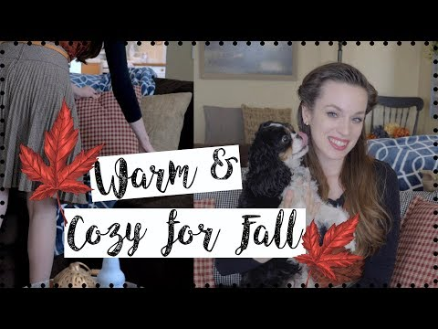 MAKE YOUR HOME COZY FOR FALL! 5 EASY & INEXPENSIVE (OR FREE) TIPS!