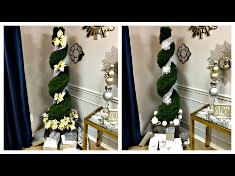NEW...MUST SEE!  2 Ways to A Christmas Tree Alternative