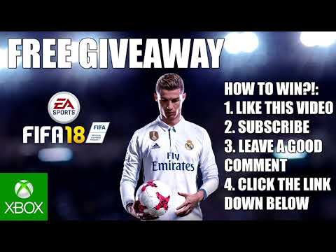 [FREE OPEN] FIFA 18 GIVEAWAY (for xbox) - ENZOKNOL VLOG #1519