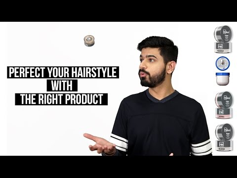 Men's Hairstyling | Choosing The BEST Product For Your Hairstyle
