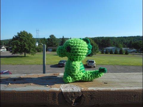 Amigurumi Crochet T-Rex Dinosaur Tutorial