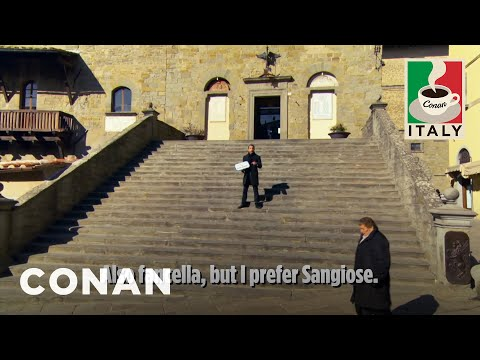 Jordan's Entire Speech In Cortona  - CONAN on TBS