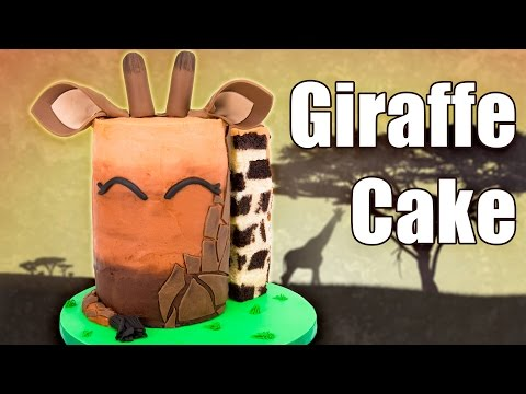 How to Make a Giraffe Cake (April the Giraffe Cake from Animal Adventure Park)