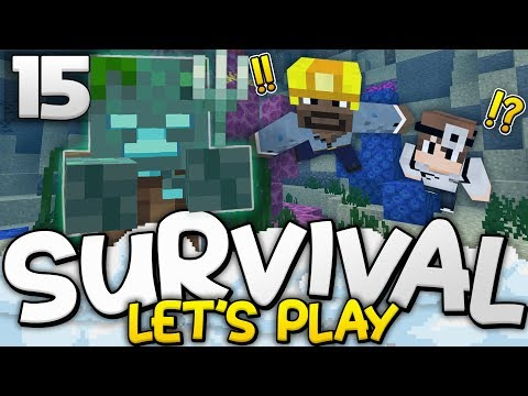 THE 2 PIRATES OF THE CORAL REEF!! - Survival Let's Play Ep. 15 - Minecraft Bedrock (PE W10 XB1)
