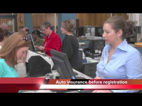 Insurance required before vehicle registration in TN