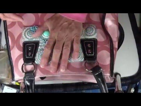 Bead Embroidered Handbag