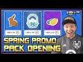 SPRING PACK OPENING 100 OVR PLATINUM SPRING BASKET PACKS NBA LIVE MOBILE 19 S3 SPRING PROMO
