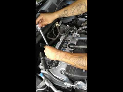 How to change spark plugs on a 2008 Honda Accord