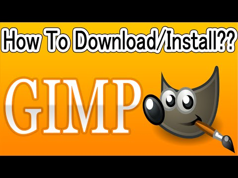 Download Gimp For Windows - Vista/7/8/10/XP And How To Install?