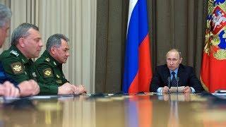 We got 'em? Putin says ISIS almost down
