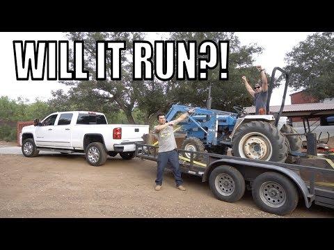 We Got A FREE Diesel Tractor!