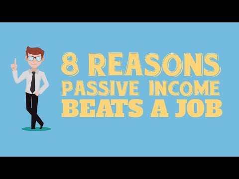 PASSIVE INCOME VS. 9-5 JOB - What Makes More Money?