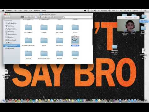 How to get the Library Folder in your mac