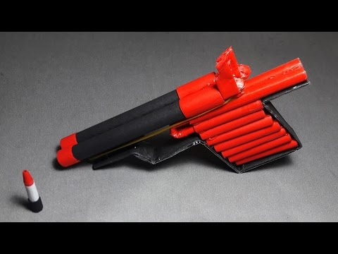 | DIY | How to make a paper 'PANTHER GUN' that shoots paper bullets-Toy Weapon- By Dr. Origami