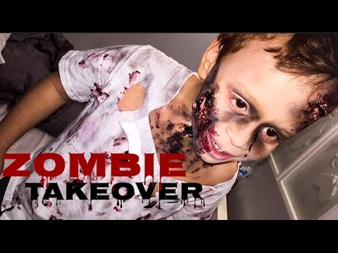 Kids Zombie Costume | Affordable DIY Halloween Costumes | 2015