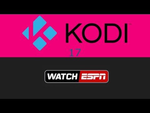 How To Install WatchESPN Kodi 17.3