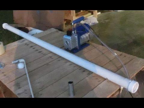 DIY 290MPH (470KPH) Ping Pong Ball Vacuum Cannon