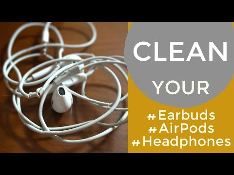 How to Clean EarBuds - EarPhones- EarPods (Easy & working)
