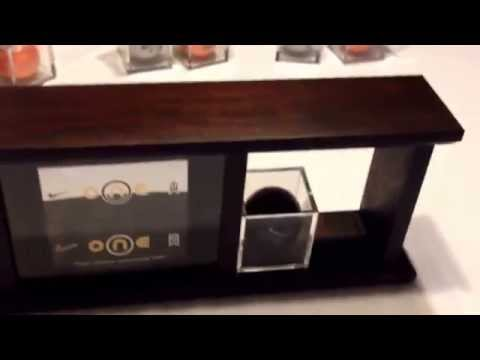 Nike Black One Black BOB golf balls 1-4 collection display case