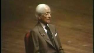 Jiddu Krishnamurti: In The Present Is The Whole Of Time