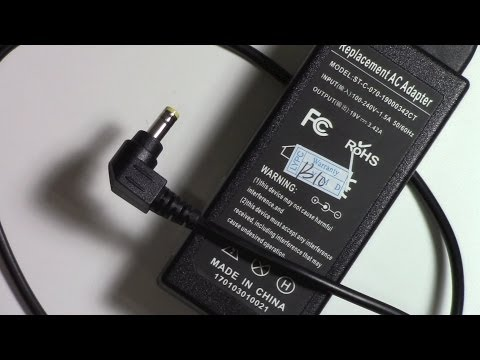 How to repair a AC adapter power supply plug for AsusLaptop