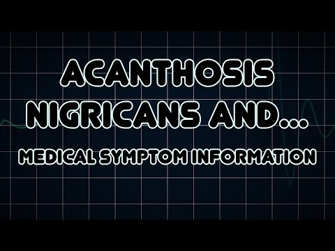 Acanthosis nigricans and Polyphagia (Medical Symptom)