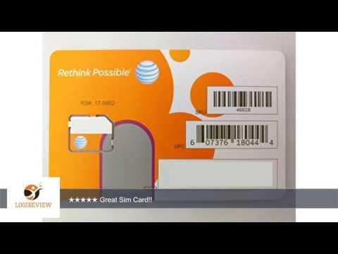 AT&T Wireless 3G / 4G / LTE Micro SIM Card - Postpaid /Go Phone Prepaid - SKU 4681B Softcard SIM |