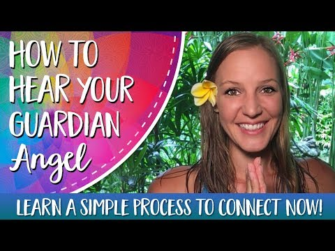 How to Hear Your Guardian Angel - Learn to Hear Your Angels With This Simple Process!