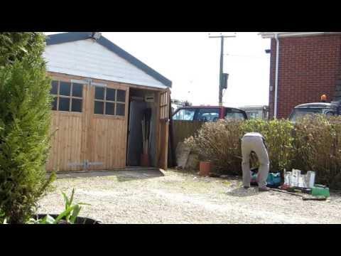 Hand Crafted Wooden Garage doors
