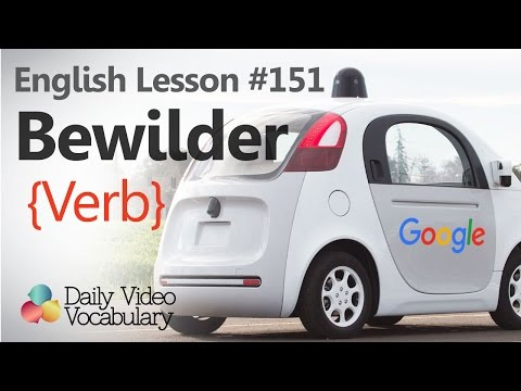 English Lesson # 151 - Bewilder (verb) - Learn English Pronunciation, Vocabulary & Phrases