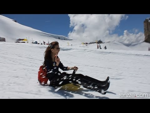 Switzerland - Sledding Mt Titlis