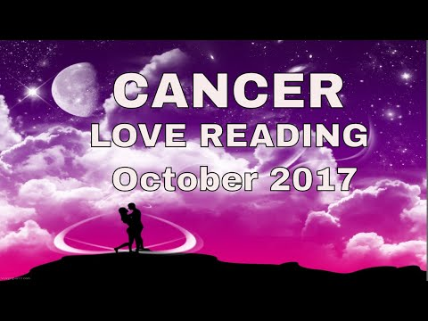 Cancer Love Reading October 2017 ~ Accept Who You Really Are ~ Tarot by Sonia Parker