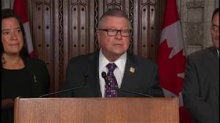 Safety Minister Ralph Goodale Announces New Intelligence Agency Will Oversee CSIS, CSE and the RCMP