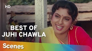 Best of Juhi Chawla Scenes from Benaam Badsha (HD) | Anil Kapoor | Shilpa Shirodkar - 90's Hit Movie
