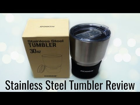 Nulaxy Stainless Steel Tumbler - Amazon Review!
