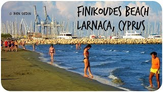 Finikoudes Beach - Larnaca, Cyprus