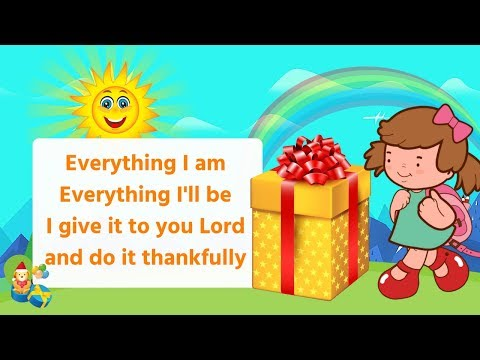 A Gift to You (Everything I Am) - Nursery rhyme | kids video