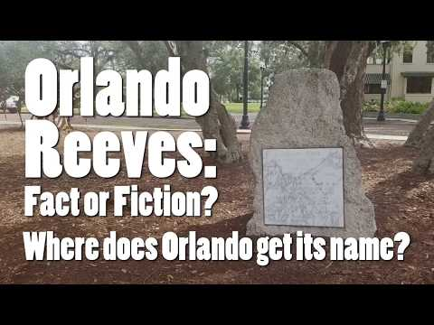 Orlando Reeves Fact or Fiction?
