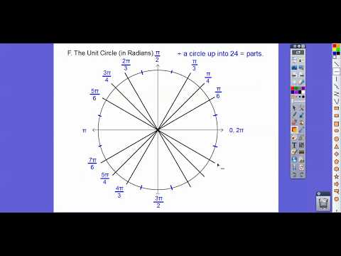 Angles of Rotation and Radian Measure - Module 18.1