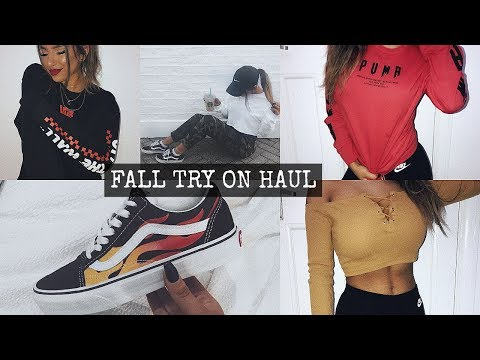 FALL TRY ON CLOTHING HAUL 2017
