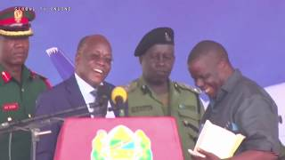 Captain Aliyetoroka Na Ndege Kenya Apewa Mamilioni Na Jpm!