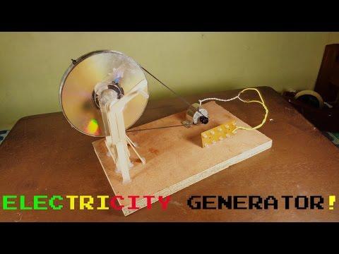 Simple Lifehack : Simple Electricity Generator