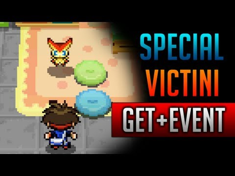 How & Where to catch/get - Special Victini Event in Pokemon Black 2 & Pokemon White 2