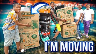 IM FINALLY MOVING OUT MY HOUSE!!💔